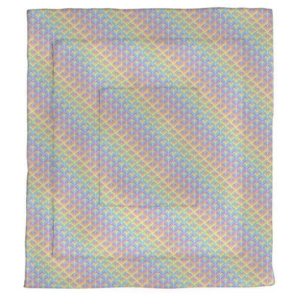 Avicia Rainbow Scales Single Reversible Comforter