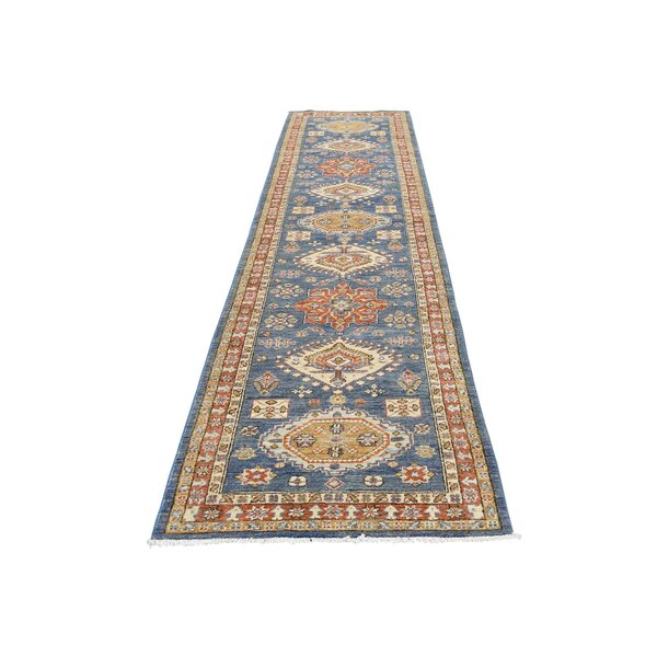 One-of-a-Kind Laursen Northwest Hand-Knotted Blue Area Rug by Canora Grey