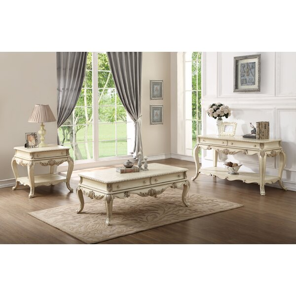 Welling 3 Piece Coffee Table Set by Astoria Grand Astoria Grand