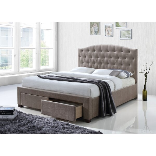 Crader Upholstered Storage Platform Bed By Darby Home Co by Darby Home Co Cheap
