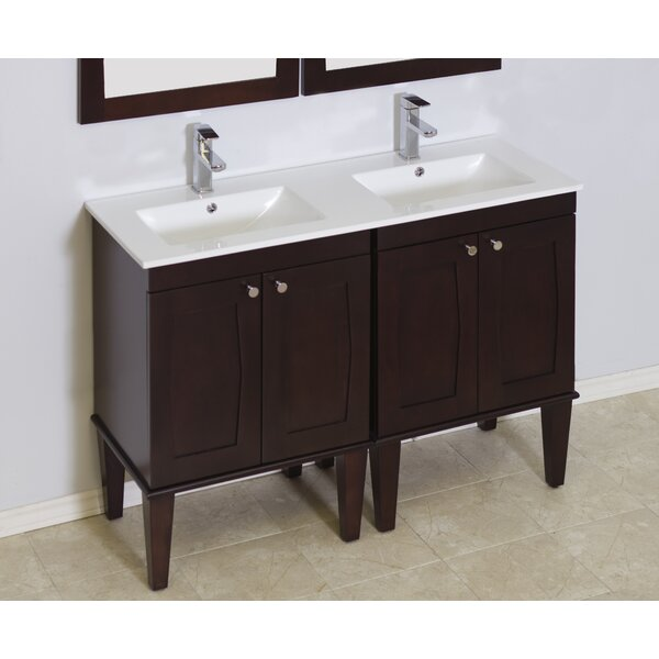 48 Double Transitional Bathroom Vanity Set by American Imaginations