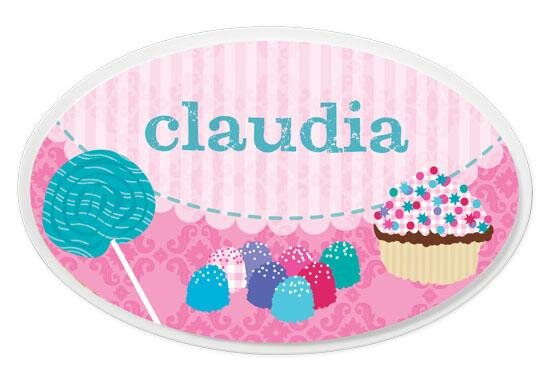 Personalized Sweets Oval Wall Plaque by KidKraft