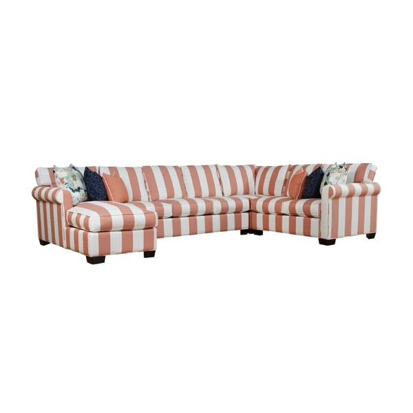Ezra Right Hand Facing Sectional by Rosecliff Heights