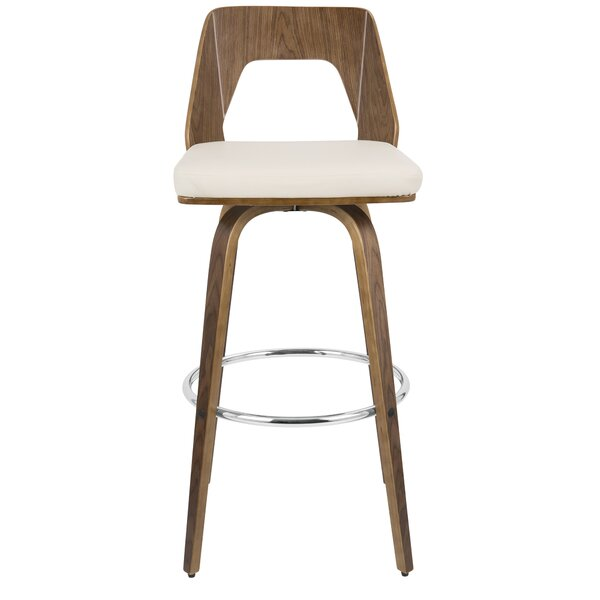 Emory 30 Swivel Bar Stool (Set of 2) by Langley Street