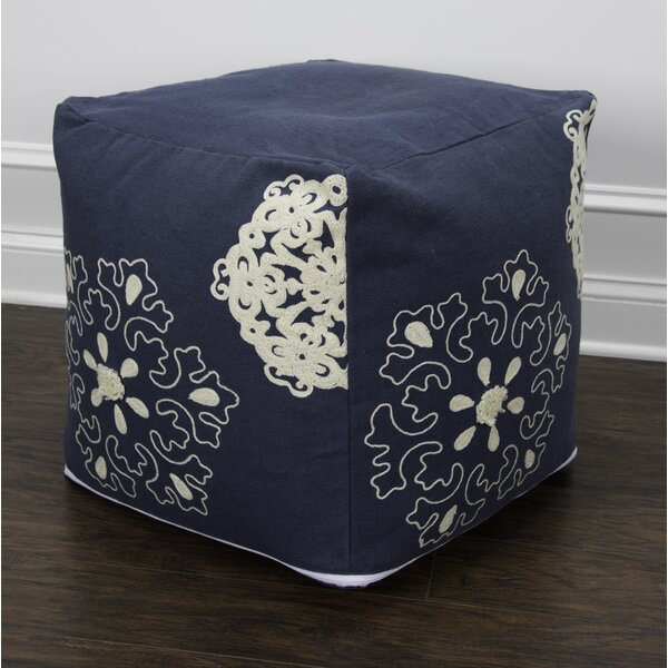 Beloit Pouf by Alcott Hill