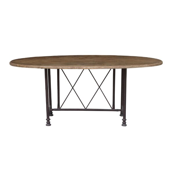 Milton Solid Wood Dining Table by White x White