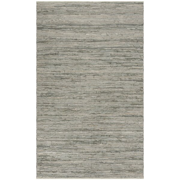 Swayze Hand Tufted Gray Area Rug by Mistana