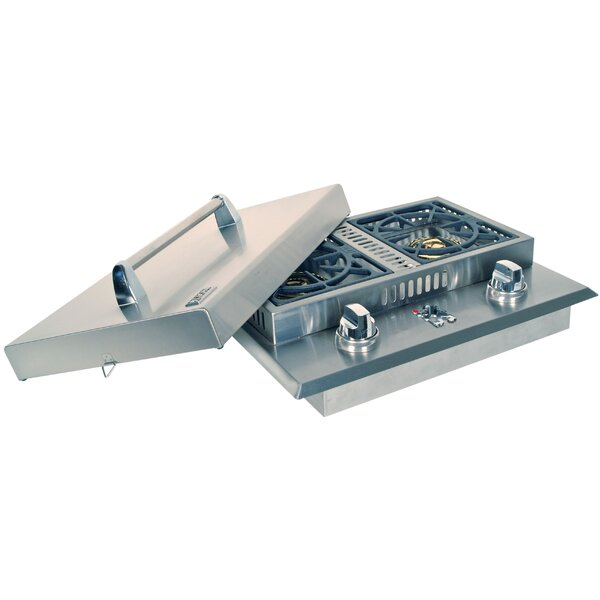 Double Side Burner by Lion Premium Grills