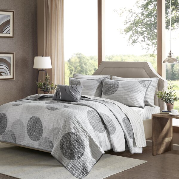 Waveside Complete Coverlet Set by Beachcrest Home