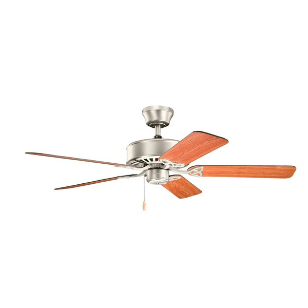 50 Borgen 5 Blade Ceiling Fan by Alcott Hill