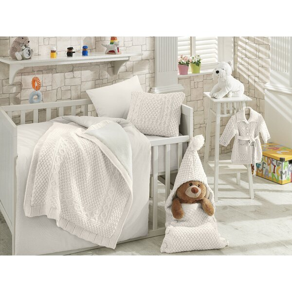 Saint-Pierre 7 Piece Crib Bedding Set (Set of 7) b