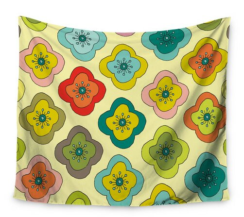 Forest Bloom by Nicole Ketchum Wall Tapestry by East Urban Home