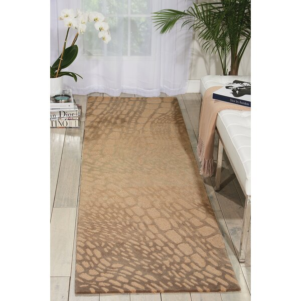 Palisades Lava Flow Hand-Tufted Light Olive Area Rug by Kathy Ireland Home