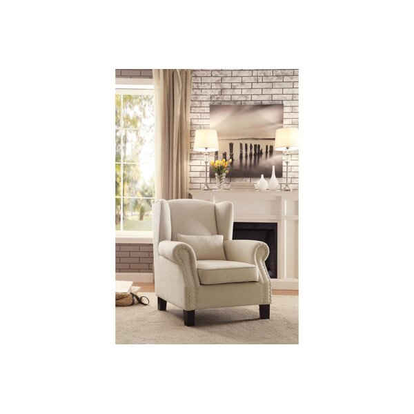 Feinberg Wingback Chair by Darby Home Co