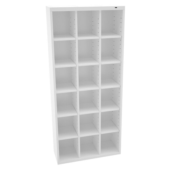 Storage Unit Bin 18 Compartment Cubby by Tennsco Corp.