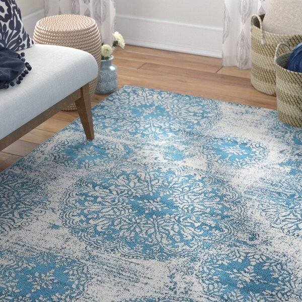 Brandt Blue Indoor Area Rug by Mistana