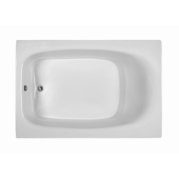 Rectangle 71.25 x 47.25  Soaking Bathtub by Reliance