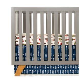 Price comparison Erasmos Starter 2 Piece Crib Bedding Set ByZoomie Kids