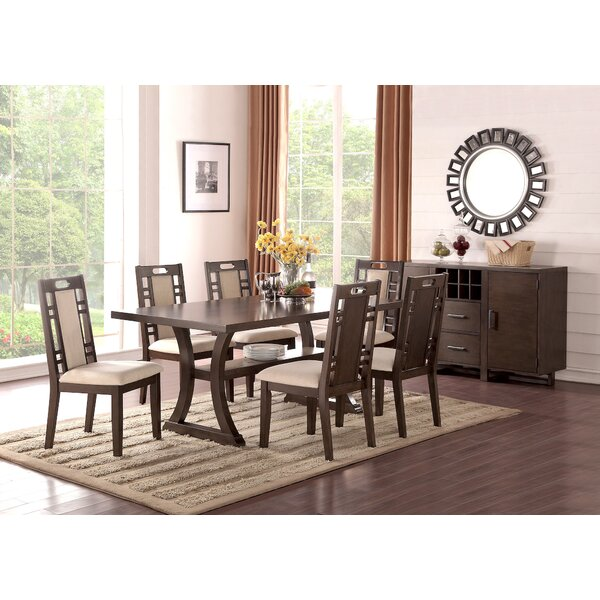Stephens 7 Piece Dining Set by Canora Grey