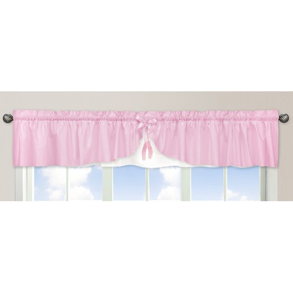 Ballerina 84 Curtain Valance by Sweet Jojo Designs