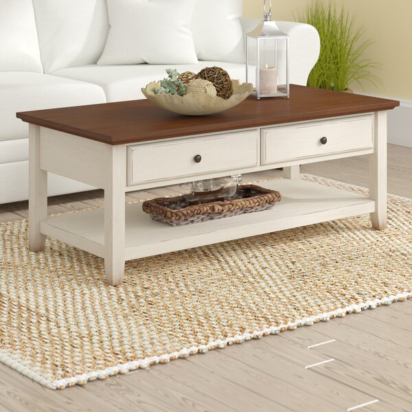 Willow Coffee Table by Beachcrest Home