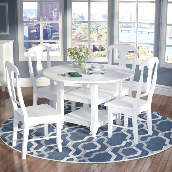 Harwick 5 Piece Dining Set by Alcott Hill