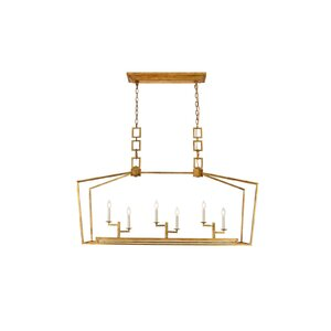 Isoline 6-Light Candle-Style Chandelier