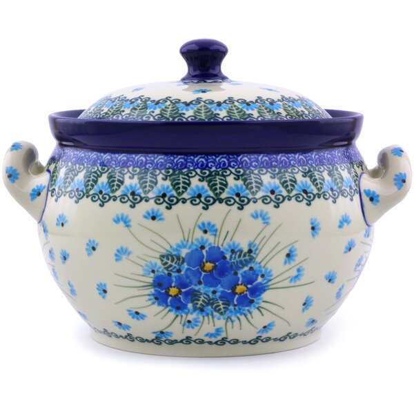 Polish Pottery 55 qt. Tureen by Polmedia