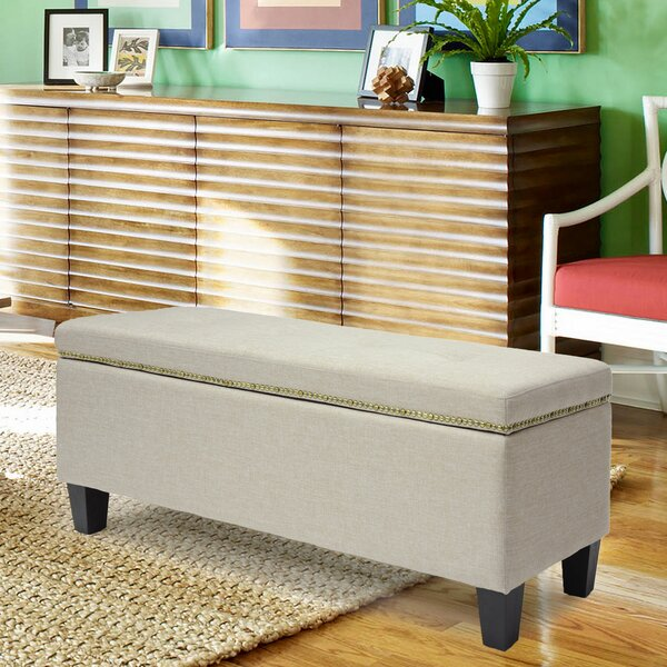 Lucrezia Storage Ottoman by Andover Mills