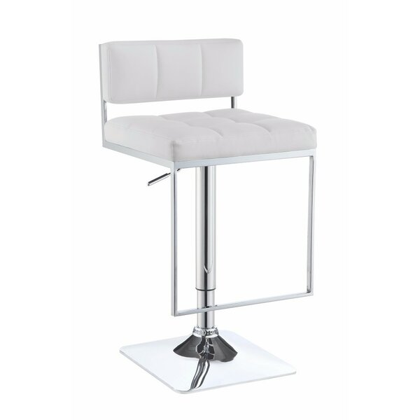 Worsley Adjustable Height Swivel Bar Stool by Orren Ellis