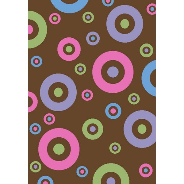 Ball Ground Alisa Dots in Dots Kids Rug by Zoomie Kids