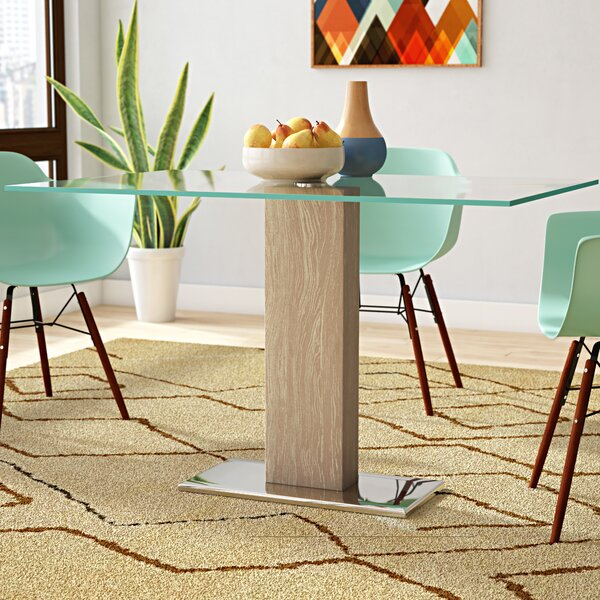 Vioria Dining Table Brayden Studio BRSU4278