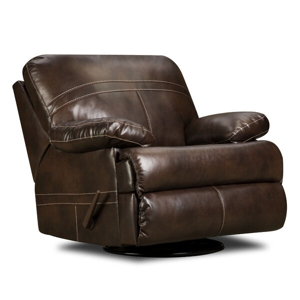 Obryan Manual Swivel Glider Recliner by Simmons Upholstery by Darby Home Co