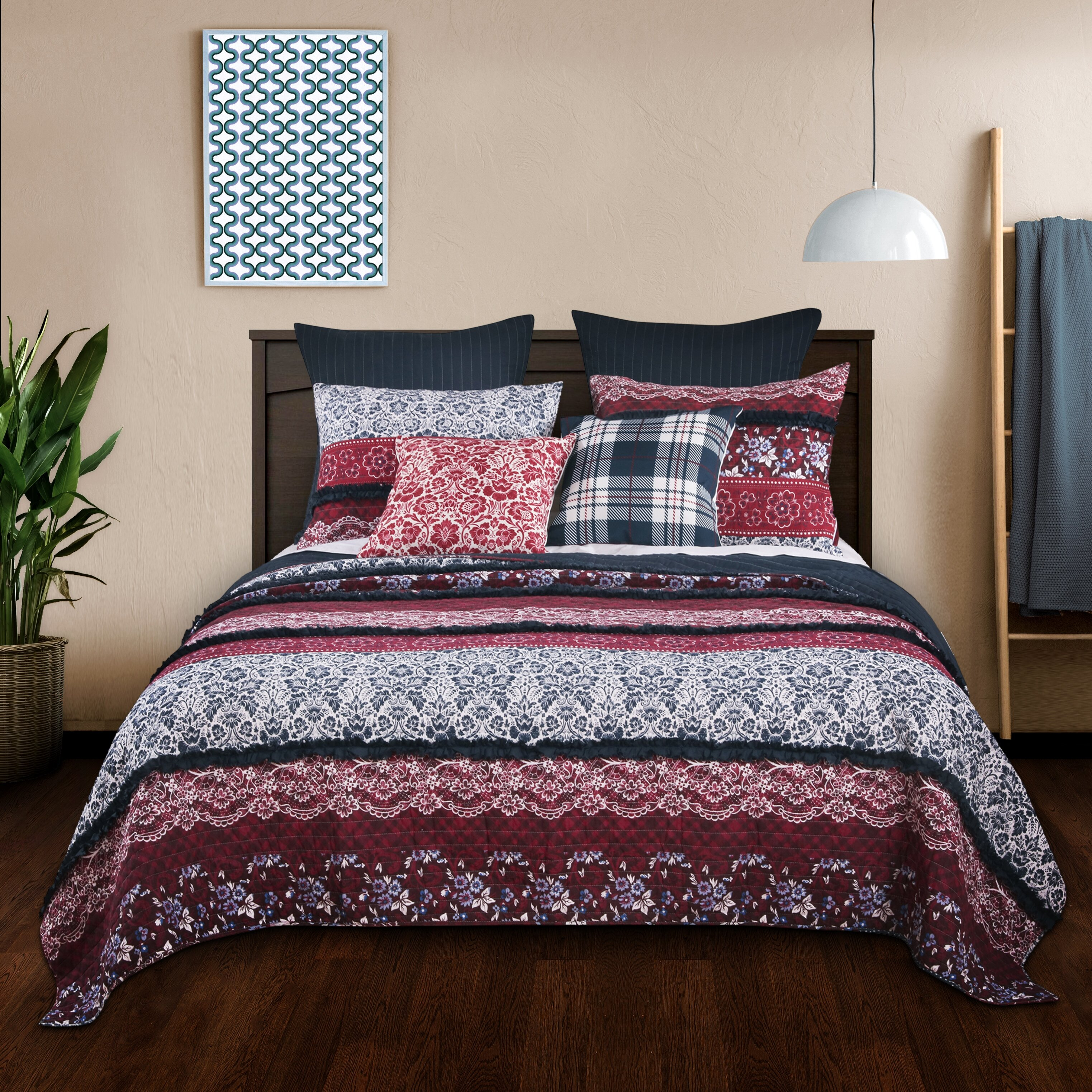 Charlton Home Canady Reversible Quilt Set Reviews Wayfair