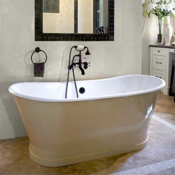 Balmoral 68 x 28 Soaking Bathtub by Cheviot Products