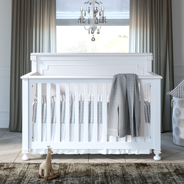 Michell 4-in-1 Convertible 2 Piece Crib Set by Greyleigh