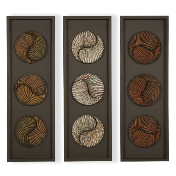 3 Piece Panel Graphic Art Set by Passport Furniture