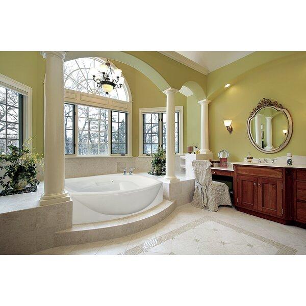 Designer Jessica 60 x 48 Soaking Bathtub by Hydro Systems