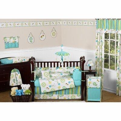 Layla 9 Piece Crib Bedding Set by Sweet Jojo Designs
