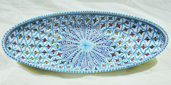 Platter by Neapolis Ceramic