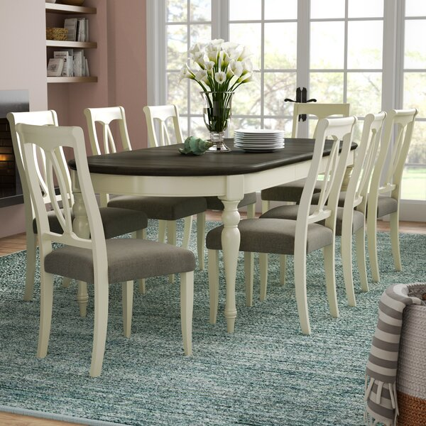 Lattimore 9 Piece Dining Set by Rosecliff Heights