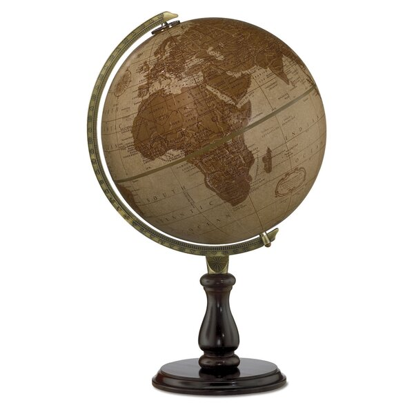 Leather Expedition World Globe by Replogle Globes