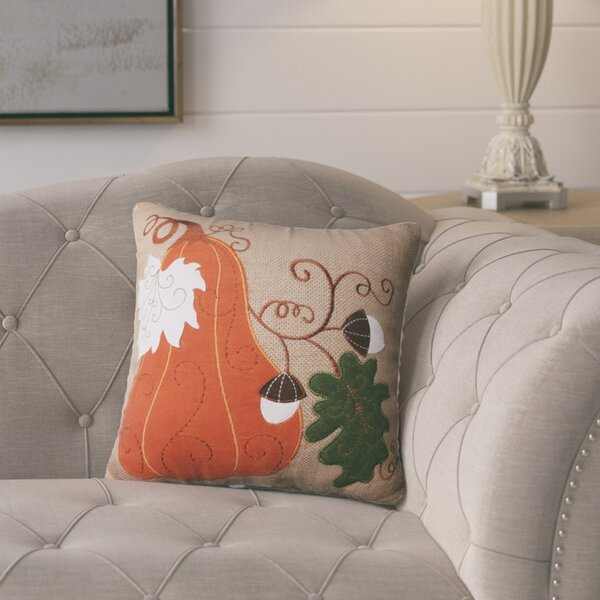 Chisolm Squash Throw Pillow by August Grove