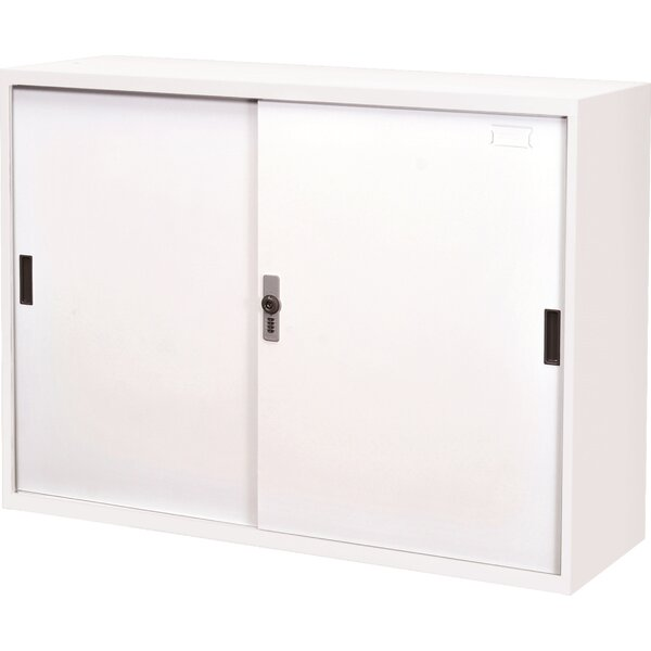 34.6 Steel Doors with Lock Storage Cabinet by Symple Stuff