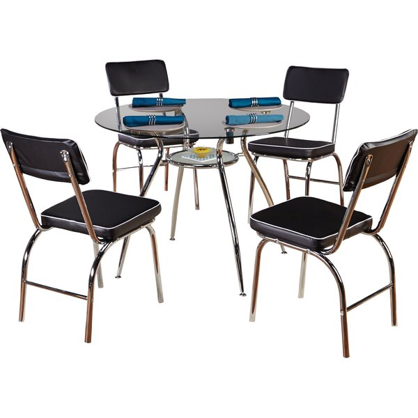 Mable 5 Piece Dining Set by TMS