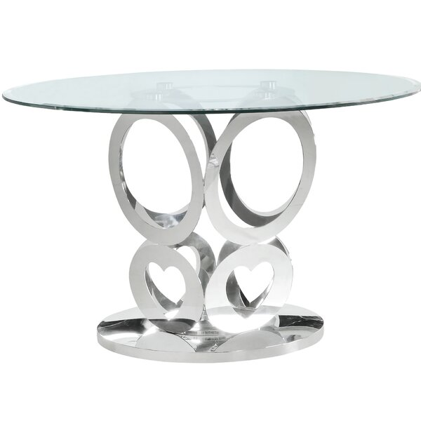 Jeniffer Dining Table by Everly Quinn Everly Quinn