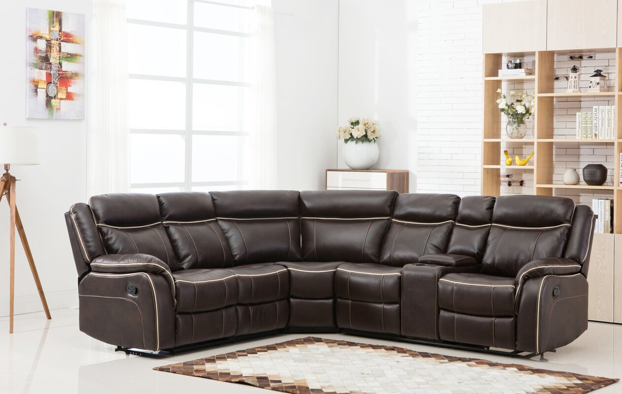 Classic Reclining Sectional : sectional reclining - Sectionals, Sofas & Couches