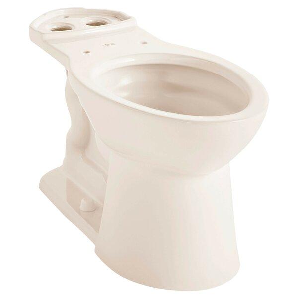 VorMax Dual Flush Elongated Toilet Bowl by American Standard