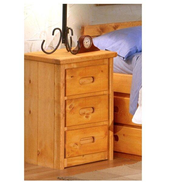 Eldon 3 Drawer Nightstand by Harriet Bee