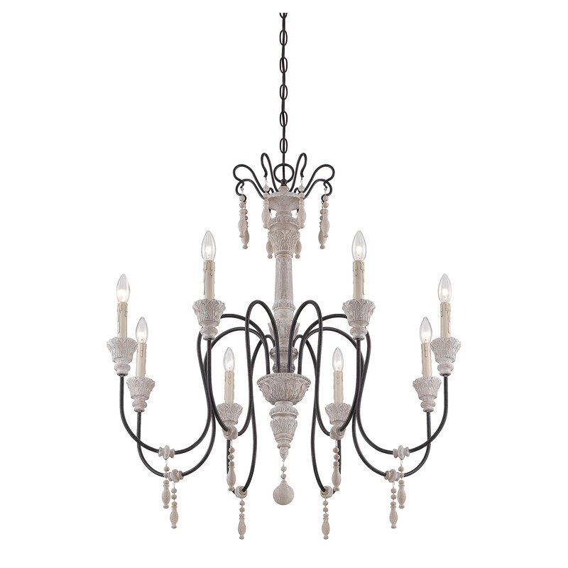 marvelous Wildon Home Chandelier Part - 2: Creswell 8-Light Chandelier